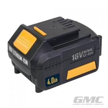 Batterie Li-Ion 18V de 4,0Ah pour outil sans fil GMC