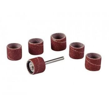 Manchons de ponçage 12.7 mm pour outil rotatif du touret à meuler Silverline et Scheppach HG34