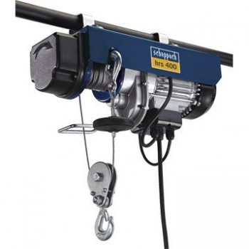 Palan treuil électrique Scheppach HRS250 125/250KG
