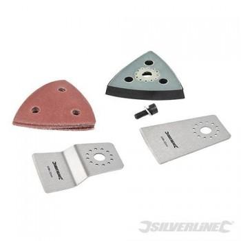 Kit d'accessoires 4 pièces pour outil multifonction 10,8 V