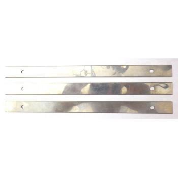 Jeu de 3 fers de dégauchisseuse 260 x 18.5 x 1.2 mm pour combiné CU250F