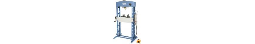 Presses hydrauliques pneumatiques