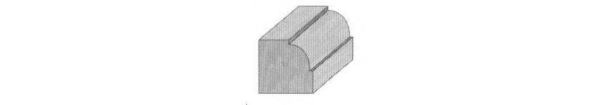Fraise de d fonceuse probois machinoutils for Quart de rond polystyrene
