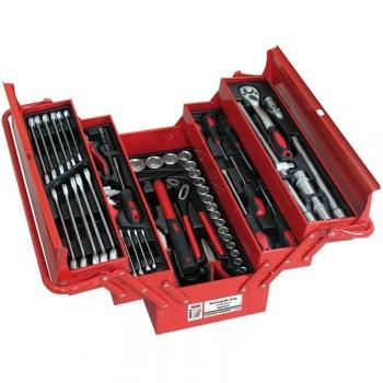 Holzmann 86 piezas de caja de herramientas