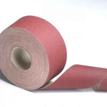 Schleifpapierrollen auf leinwand Körnung 120, Qualität Pro ! 5 meter
