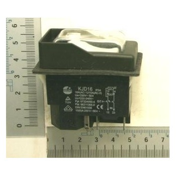 Brown switch 230V for jointer Kity 637, 1637 and router 609
