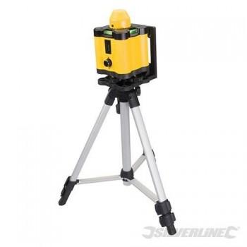 Level rotating laser range of up to 30 m