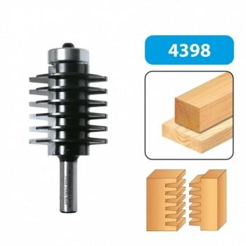 Finger joint router bit - Shank 8 mm