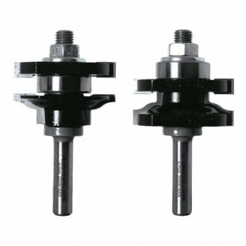 Fräsersets für Profile und Konterprofile - Shaft 8 mm