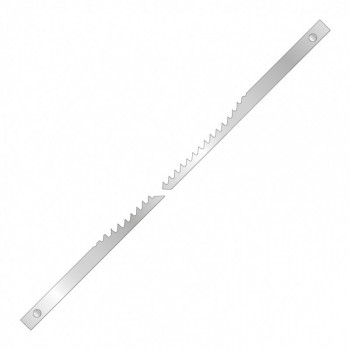 Saw blade scroll with ergot 127 mm - thickness 0.5 - set of 12