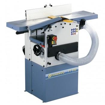 Abricht und dickenhobelmaschine Bernardo PT260 mit integrierter absaugung