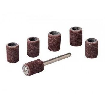 Manchons de ponçage 6.35 mm pour outil rotatif du touret à meuler Silverline et Scheppach HG34