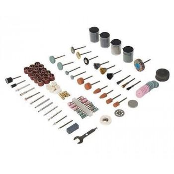 Accesorios para herramienta rotativa en el banquillo molino para moler Silverline y Scheppach HG34 (216 piezas !)