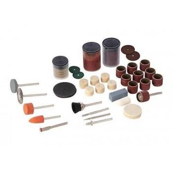 Accessori per utensili rotanti, e la smerigliatrice del banco a macinare Silverline e Scheppach HG34 (105 pezzi !)