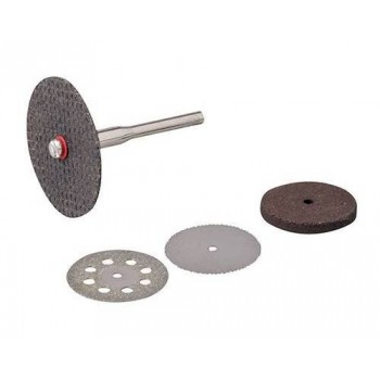 Disc and grinding wheels for rotary tool and bench grinder to grind Silverline and Scheppach HG34 (5 pieces)