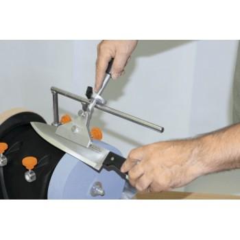 Dispositivo di affilatura Scheppach V120 per il grande coltello