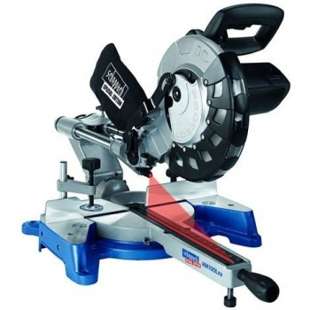 Sliding radial miter saw Ø254 Kity MS254 with 2 blades carbide 48 and 60 teeth!