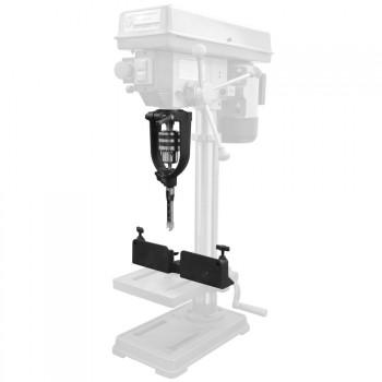 Kit de transformation de perceuse à colonne en mortaiseuse à bédane carré