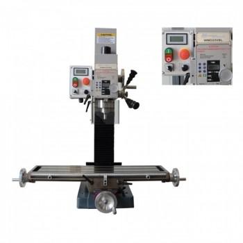Taladro de la máquina de fresado de metal Metalprofi WMD25VBL con pantalla digital - 750W