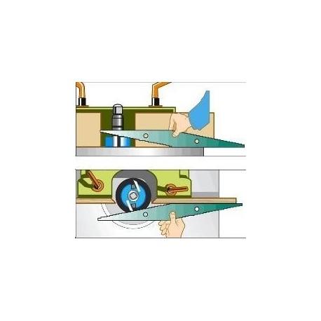 Réglet de toupilleur : positionnez facilement les outils de toupie !
