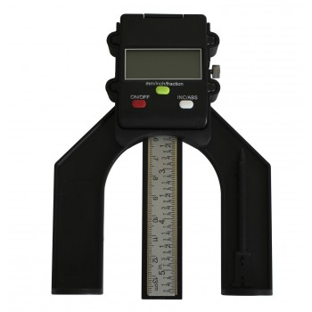 Depth gauge Leman for router with digital display