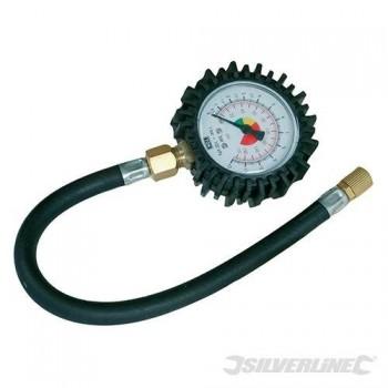 Manomètre pour pneus Silverline