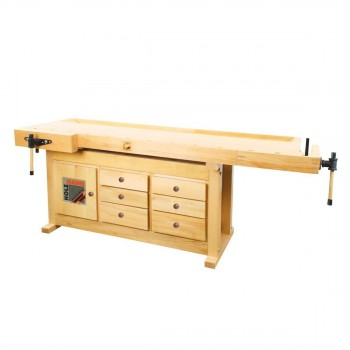 Established joiner 2100 mm rubber with drawers - Holzmann