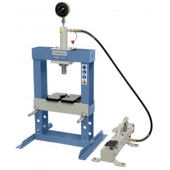 Presse d'atelier pneumatique 10 tonnes PWK10T