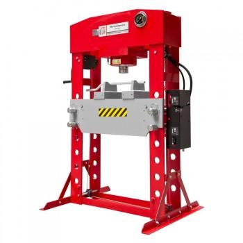 75 Tonnen Holzmann WP75H pneumatische Pressegespräch