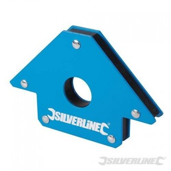Aimant de soudeur Silverline 100 mm