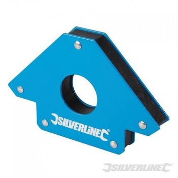 Aimant de soudeur Silverline 125 mm