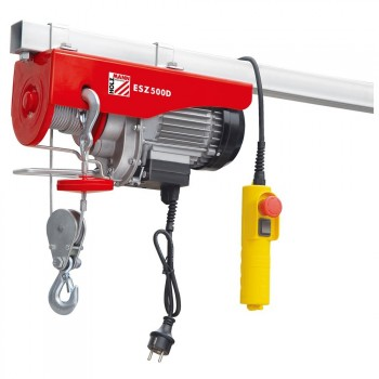 Flaschenzug elektrische seilwinde Holzmann ESZ500D