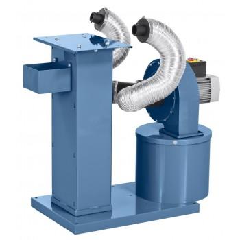 Vacuum wood chip machine metal Bernardo MSA500