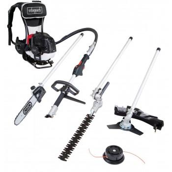 Brush cutter Scheppach FH5300-4BP - backpack