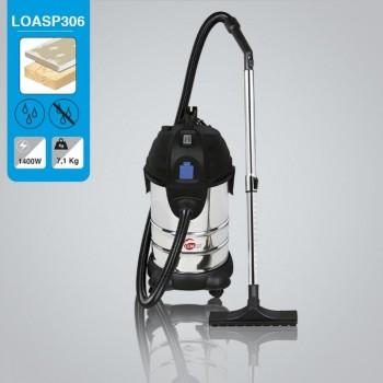 Aspirateur d\'atelier eau et poussière 30L Leman LOASP301