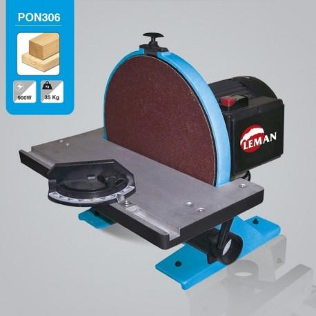 Lijadora de disco Leman PON306 Ø 300 mm