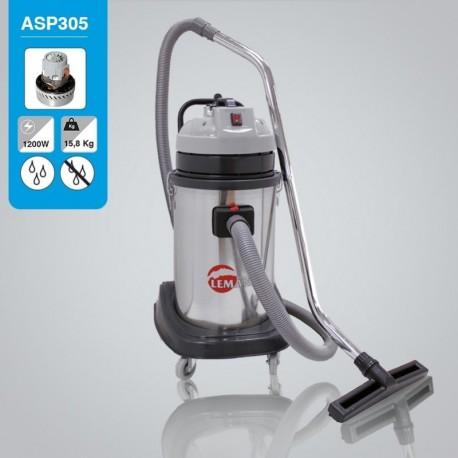 Aspirateur d'atelier eau et poussière Leman ASP305