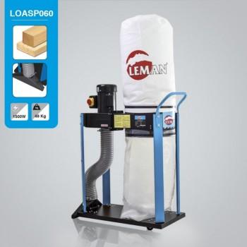 Aspirateur à copeaux Leman LOASP060 de 60 litres