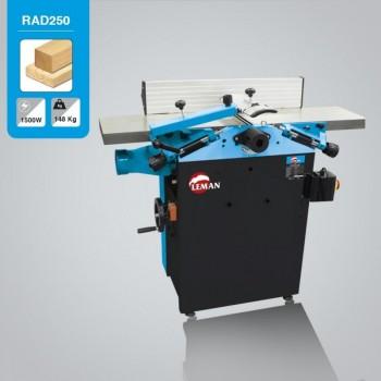 Cepilladora regruesadora Leman RAD250