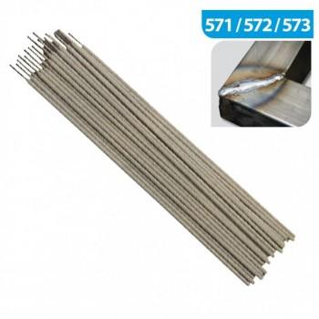 La saldatura ad elettrodo universale in acciaio INOX aisi 316-L 2,5 x 300 mm - scatola da 1 kg