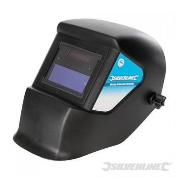 Máscara de soldador de auto-oscurecimiento de la energía solar