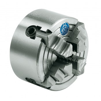 Mandrin 4 mors diamètre 80 mm pour tour à métaux