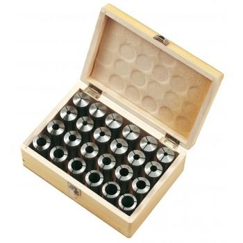 Jeu de 24 pinces 3-26 mm pour mandrin porte-pinces