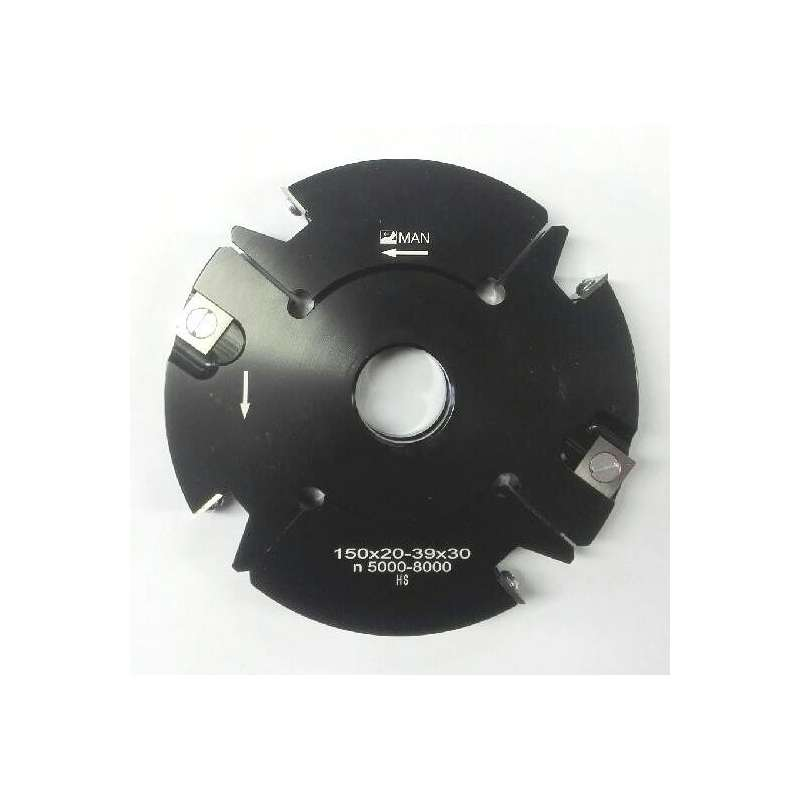 Grooving cutter adjustable 20 to 40 mm Ø150 mm