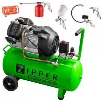 Compresseur d'air 50 L Zipper ZI-COM50-2V