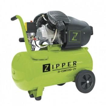 Compresseur d'air 100 L Zipper ZI-COM100-2V