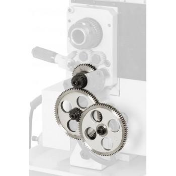 Dispositif de taraudage métrique en métal pour tour à métaux Hobby 300 à 350