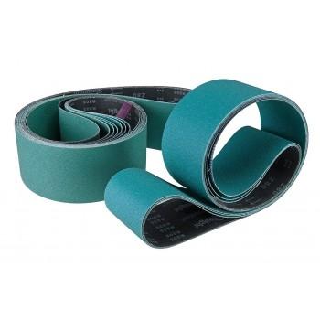 Bande abrasive toilée 100x2000 mm pour ponceuse métal