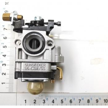 Carburetor for hedge trimmer Scheppach HTH250/240P and Woodstar HTW25/24P