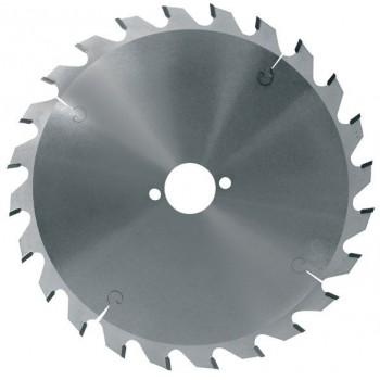 Lame circulaire carbure dia. 180 mm - 24 dents alternées (pro)
